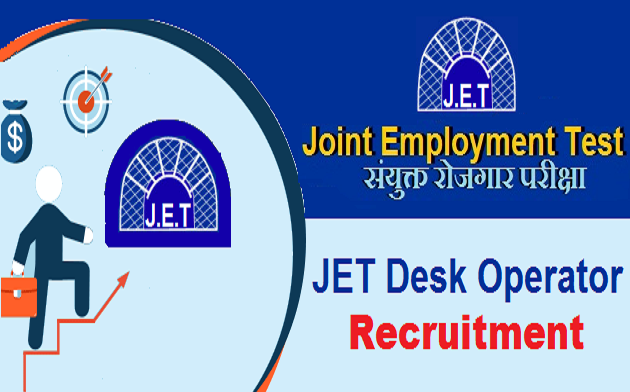 JET desk operator recruitment
