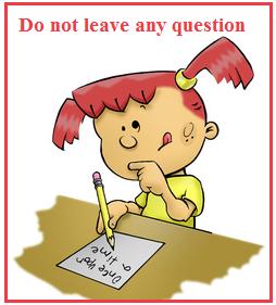 सभी प्रश्नों का प्रयास करें