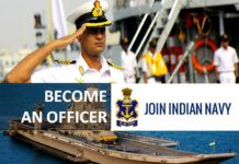 Check Eligibility to become an Officer in Indian Navy after 12th, Graduation & Post Graduation